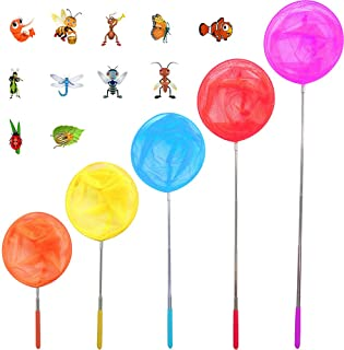 Telescopic Butterfly Nets Bug Net Catching Insects Nets Outdoor Toy for Kids Playing Extendable from 14.96