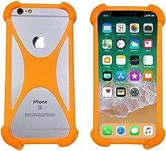Case for Blu XL3 XL4 C6L Grand M3 Life One X3 Vivo One Plus 2019 Shockproof Bumper Cover Protective Rubber Silicon Phone Case for Kogan Agora XS Leagoo M13 S11 Z10 Blu Studio Mega 2018(Orange