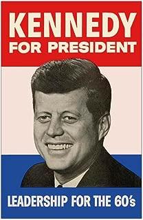CafePress - John F. Kennedy Campaign Poster - Mini Poster Print