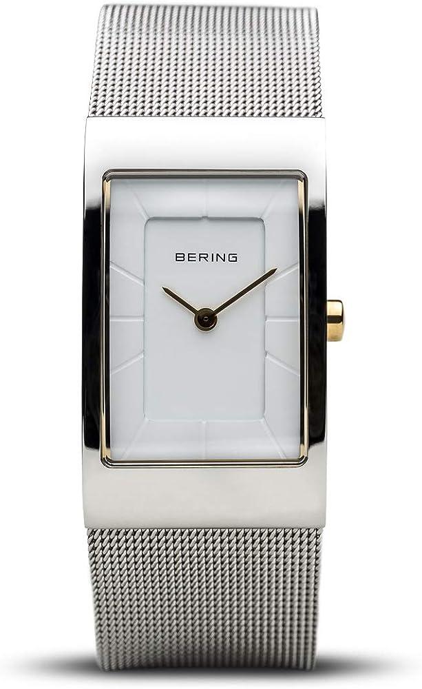 Bering, orologio analogico al quarzo  per donna,  in acciaio inossidabile 10222-010-S