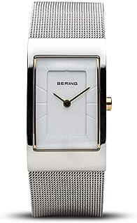 BERING Donna Analogico Quarzo Classic Collection Orologio con Cinturino in Acciaio Inossidabile & Vetro Zaffiro 10222-010-S