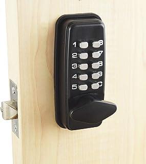 Cerradura digital para puerta con código de bloqueo de