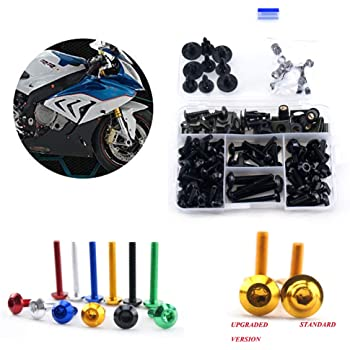 Suzuki GSXR600 2000 large headed stainless steel fairing cover bolts kit