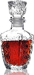 億兆堂 850ml 高級ガラス ウイスキー酒ワイン ドリンク デカンタ 850ミリリットル クリスタル ボトル ワイン カラフ ギフト 高級レストラン スナック ラウンジ クラブ バー 居酒屋 飲み屋には最適~