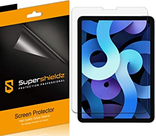 (4 Pack) Supershieldz Designed for iPad Pro 11 inch (2021 2020 2018) and iPad Air 4 10.9 inch (4th Generation) Screen Prot...