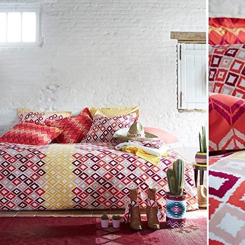 Essix - Drap Plat Boukha Coton Multicolore 240 x 300 cm