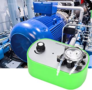 PBZYDU Miniature Peristaltic Pump, G728-1 Miniature Peristaltic Self-Priming Pump Small Circulating Pump 100-240V(US-40~160ml/min)