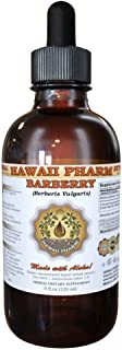 Barberry Liquid Extract, Organic Barberry (Berberis Vulgaris) Dried Root Bark Tincture Supplement 2 oz
