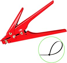 Zip Tie Tool,Knoweasy Cable Tie Gun and Tensioning and Cutting Tool for Plastic Nylon Cable Tie or Fasteners, All Metal Casing,0.370 Inches Max Tie Width