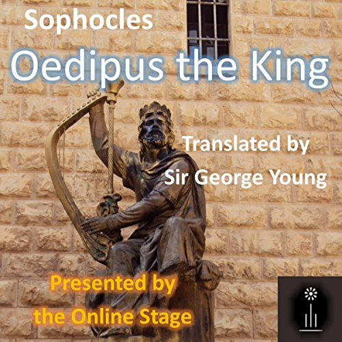 Oedipus the King audiobook cover art