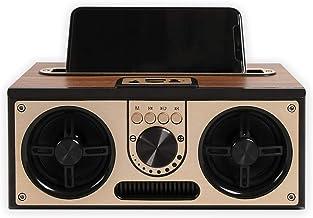 SEVIZ Retro Wireless Bluetooth Speaker, 20W Mono Sound, Bluetooth 5.0 Device with 4..