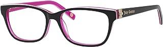 JUICY COUTURE 0FL8 Black Floral / Pink Eyeglasses