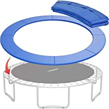 WSVULLD Trampoline Surround Pad, Vervanging Trampoline Surround PVC Pad, 3 Layer Schokbestendig Trampoline Spring Pad, 8 f...