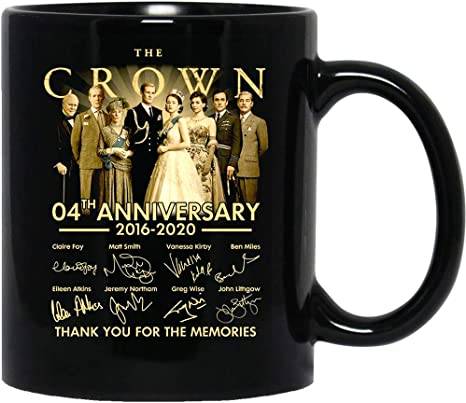 N\A The #Crown Film Cast Signature 2016-2020# Claire Foy Ceramic Coffee Mugs Cups