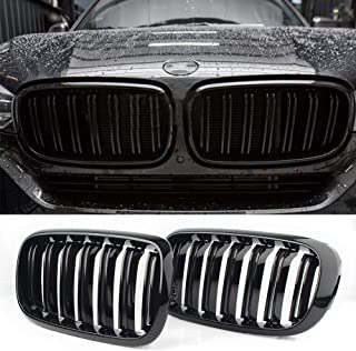 Front Replacement Kidney Grille Grill Compatible with BMW X5 Series F15 X6 Series F16 X5M F85 X6M F86