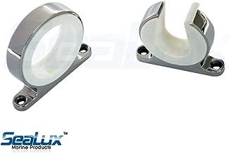 SeaLux Premium 316 Stainless Steel Snap Lock Rod and Reel storage Hanger rack set for boat, car, van