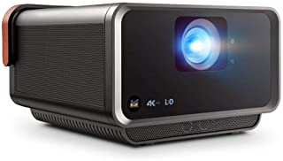 ViewSonic X10-4K True 4K UHD Short Throw LED Portable Smart Home Theater Projector Compatible with Amazon Alexa and Google...