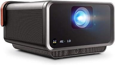 ViewSonic X10-4K UHD Short Throw Smart Portable LED Proiettore con Dual Harmon Kardon Speakers - Metallic Charcoal