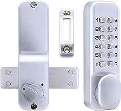 Deurslot Waterdichte Buiten Lock Gate Opener Digitale Deurslotcode/Wachtwoord Mechanische Keyless Outdoor Garden/Huis Hout...