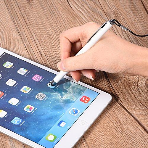 Garsent Stylus Touch Pen, Universeller Kapazitiver Stylus mit Silikon-Tastkopf für Handy, Tablet zum Schutz des Bildschirms