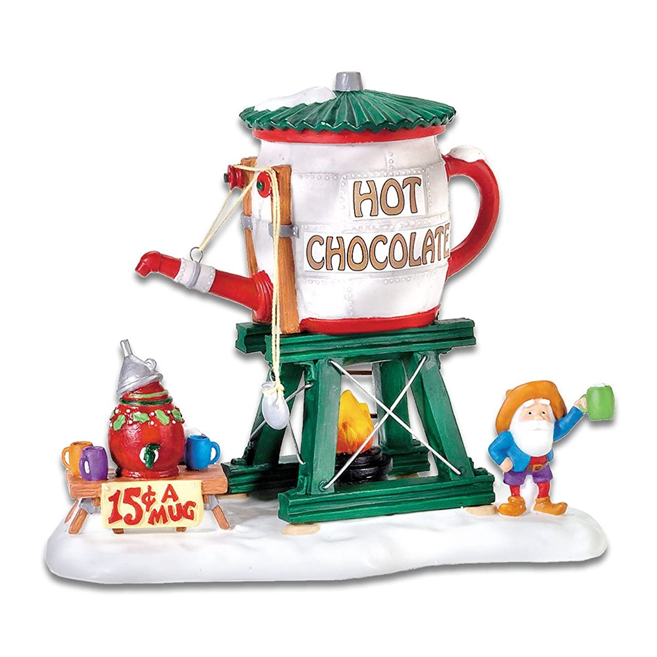 Department 56 North Pole Village Hot Chocolate Tower Accessory Figurine