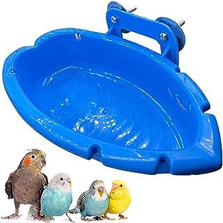 Douche Pour Cage à Oiseaux Bol Mangeoire Pour Perroquet Bain Douche Perroquet Salle Bain Cage à Oiseaux Accessoires Pour O...