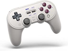 8Bitdo Pro 2 Bluetooth Controller for Switch, PC, macOS, Android, Steam & Raspberry Pi (G Classic Edition) - Nintendo Switch