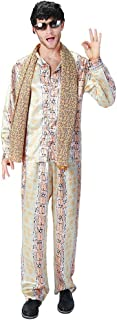Men Japanese Hot Song PPAP Costume Pen-Pineapple-Apple-Pen Halloween Cosplay Outfit