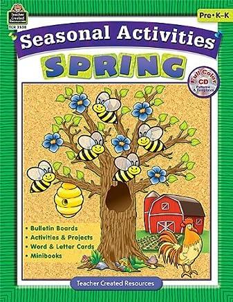 Seasonal Activities: Spring by Brenda Shelton Strickland (2008-05-01)