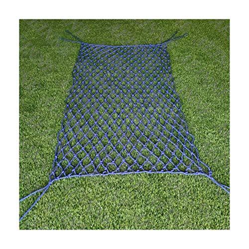 WWWANG Netificación de algodón, Netificación de seguridad para niños Cuerda Negal Red Decoración de la pared Cargo Net Red Netificación Cerca de Cerca de Protección Balcón Garden Mesh Patio Netting, P