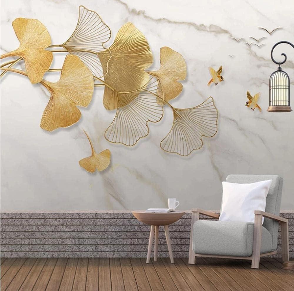 Wall Paper Modern Creative 3D Marble Living Bird Pattern Nashville-Davidson Mall Fashionable