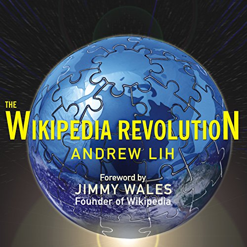 The Wikipedia Revolution audiobook cover art