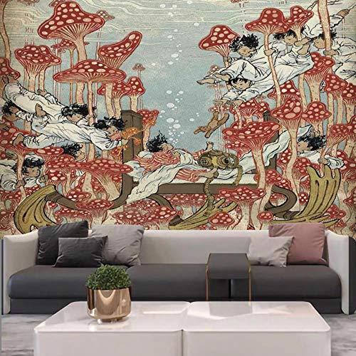 Hippie hippie psicodélico mandala celestial luna sol tapiz colgante de pared gran indio bohemio hippie tapiz decoración de tela