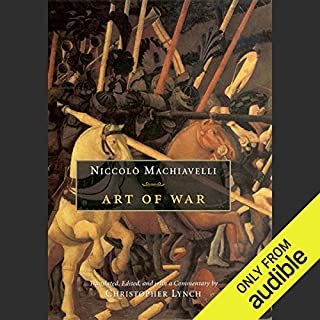 Art of War                   De :                                                                                                                                 Niccolo Machiavelli,                                                                                        Christopher Lynch - translator                               Lu par :                                                                                                                                 Victor Bevine                      Durée : 10 h et 14 min     1 notation     Global 4,0