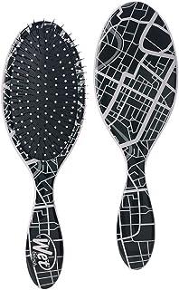 Wet Brush Hair Brush Original Detangler- Street Map - Exclusive Ultra-soft IntelliFlex Bristles - Glide Through Tangles ...