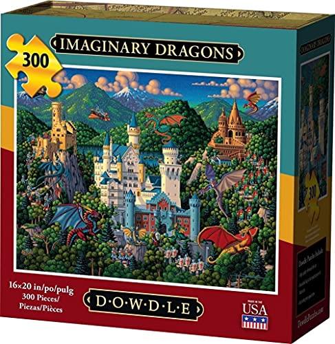 Dowdle Jigsaw Puzzle - Imaginary Dragons - 300 Piece