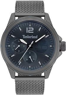 Timberland Taunton Men Analogue Watch With Blue Dial And Gun Mesh Bracelet - TBL15944JYU-03MM