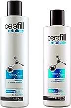 Redken Cerafill Retaliate Stimulating Shampoo 9.8 oz and Conditioner 8.3 oz Duo for Thinning Hair