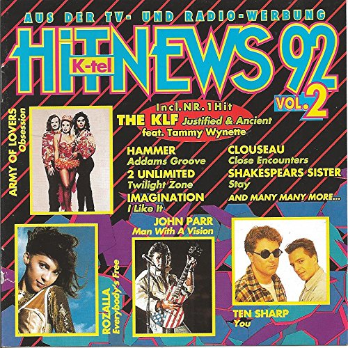 Klf, Ten Sharp, John Parr, Rozalla, Army Of Lovers..