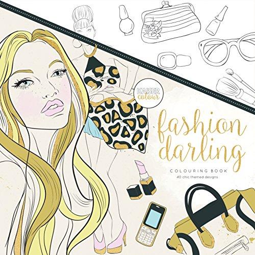 Kaisercraft Malbuch Fashion Darling, Paper, Multicolour, 25 x 25 x 0.6 cm