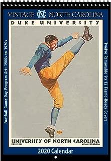2020 Vintage North Carolina Tar Heels Football Calendar