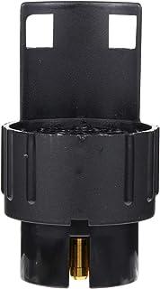 Garneck Adaptador plano de 3 a 7 vias, conector de fiação de reboque para carro, trailer, barco (preto)