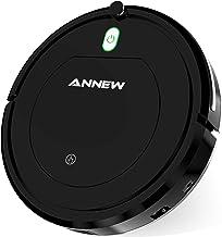 ANNEW Robot Aspirador con Control Remoto 3 Modos de Limpieza