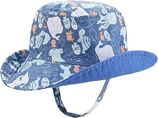 Baby Sun Hat Double Sides - Toddler Sun Hat UPF 50+ Kids Summer Play Bucket Cap
