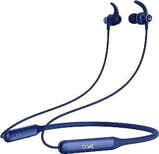 boAt Rockerz 335 Wireless Neckband with ASAP Charge, Up to 30H Playback, Qualcomm aptX & CVC, Enhanced Bass, Metal Control...