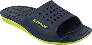 SOLETHREADS Apollo | Slides | Shock Absorbent | Lightweight | Phylon | Slippers | Flip Flops for Men