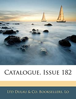 Catalogue, Issue 182