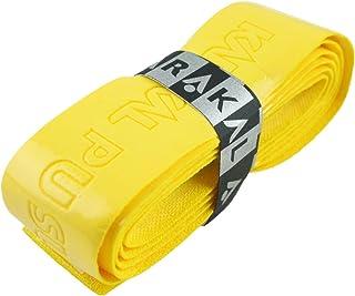 Karakal PU Supergrip Replacement Racquet Grip - Tennis/Badminton/Squash - Yellow x 2