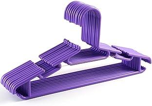 Volwassen Kleerhanger 10PCS / Lot anti-slip kunststof kleerhangers Hook PVC Portable Outdoor droogrek for Clot zcaqtajro