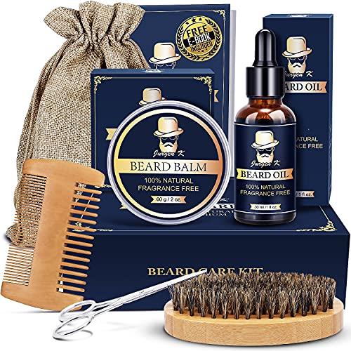 Beard Kit for Men, Beard Grooming Kit for Men Gift Set,...